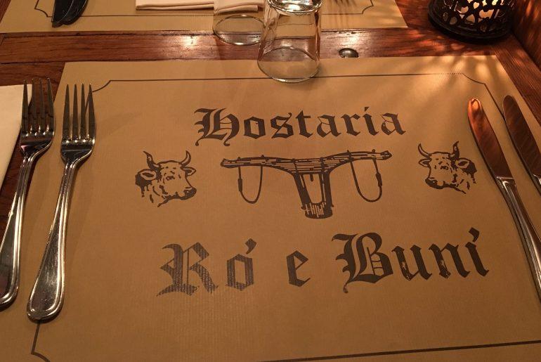 Bio Italiener - Hostaria Rò e Bunì