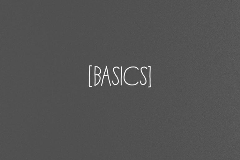 Basics - vegan und fair im Bereich Kleidung