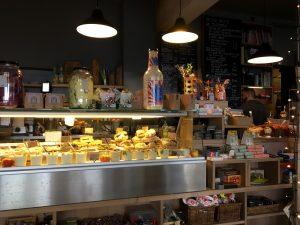 Auswahl in der Aroma Kaffeebar