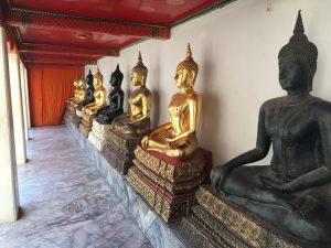 Goldene Buddhas