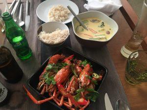 Essen im Aleena Phuket