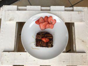Fertige Brownies